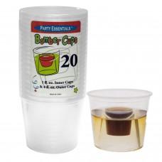 Прозрачные мягкие пластиковые стаканчики Jägerbomb